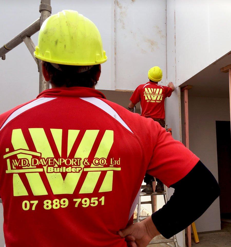 wd davenport builders
